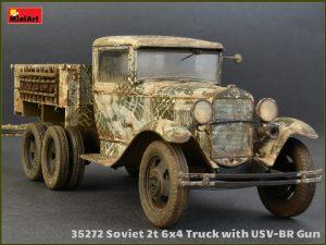 35272 SOVIET 2T 6X4 TRUCK & 76-mm USV-BR GUN + Evgeniy Solodyhin