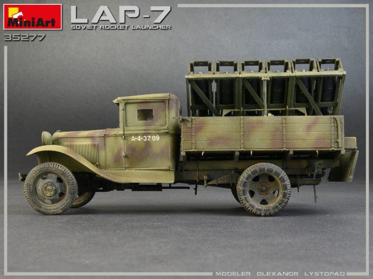35277 苏联火箭发射器 LAP-7