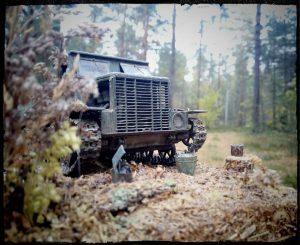 35140 Ya-12 SOVIET ARTILLERY TRACTOR. LATE PRODUCTION + munjaguar