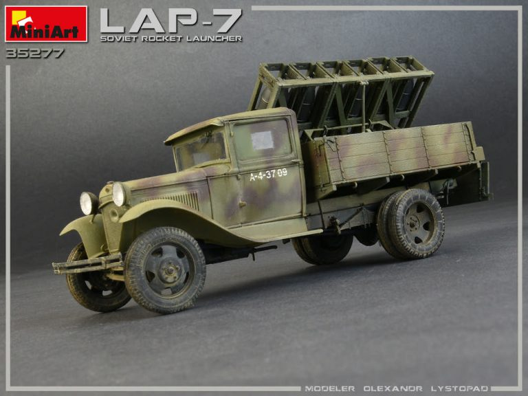 35277 SOVIET ROCKET LAUNCHER LAP-7