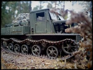 35140 Ya-12 SOVIET ARTILLERY TRACTOR. LATE PRODUCTION + munjaguar