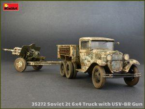 Photos 35272 SOVIET 2T 6X4 TRUCK & 76-mm USV-BR GUN