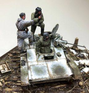 35215 T-60 EARLY SERIES. SOVIET LIGHT TANK. INTERIOR KIT + Sergey Traviansky