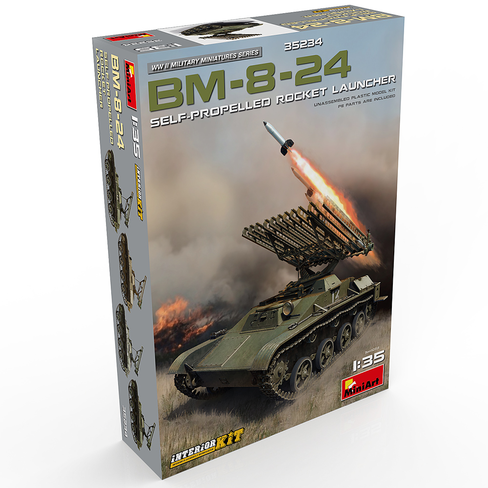 New Photos of Kit: 35234 BM-8-24 SELF-PROPELLED ROCKET LAUNCHER