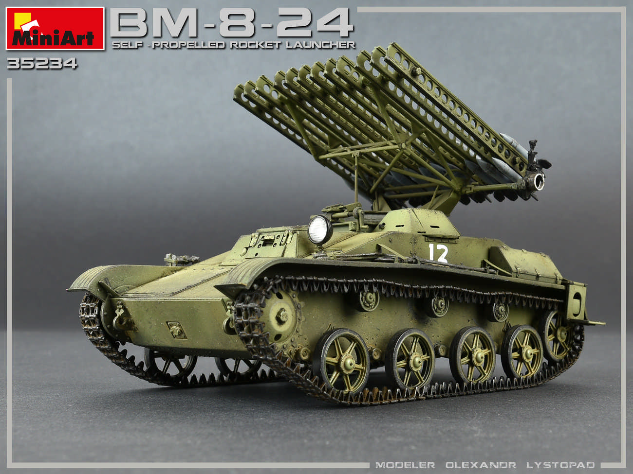Miniart – 35234 BM-8-24 SELF-PROPELLED ROCKET LAUNCHER