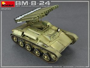 Photos 35234 BM-8-24 SELF-PROPELLED ROCKET LAUNCHER