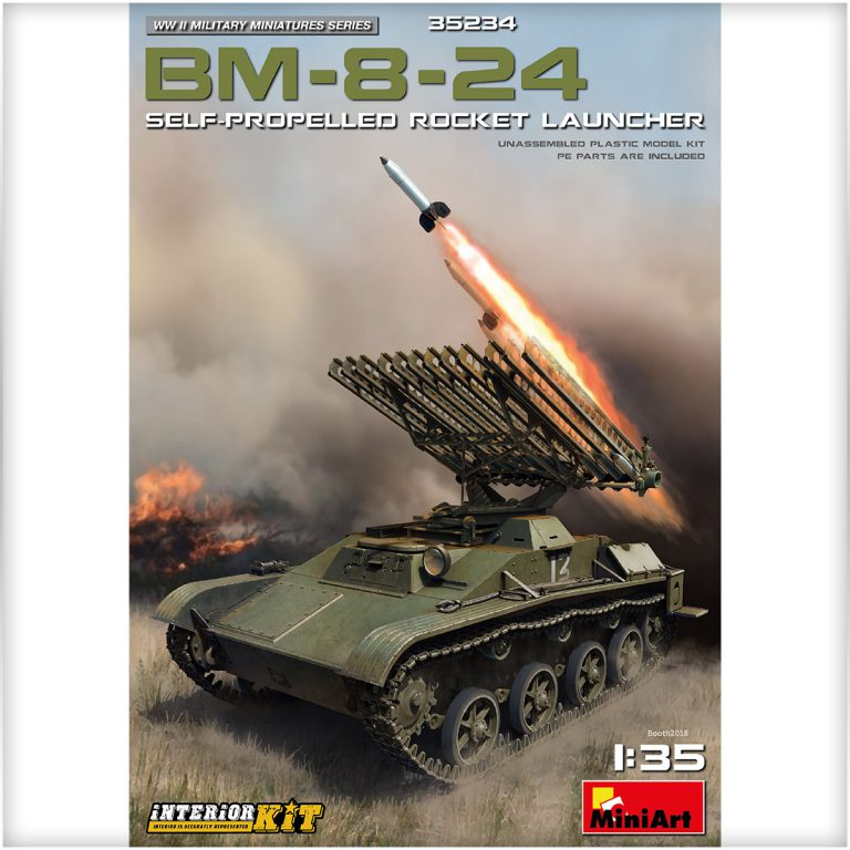 BM-8-24 SELF-PROPELLED ROCKET LAUNCHER