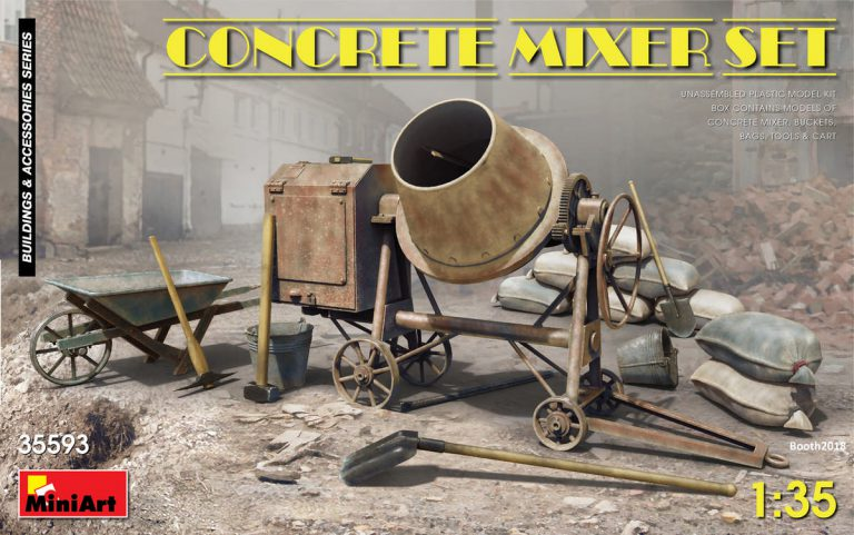 35593 CONCRETE MIXER SET