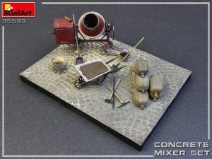 35593 CONCRETE MIXER SET
