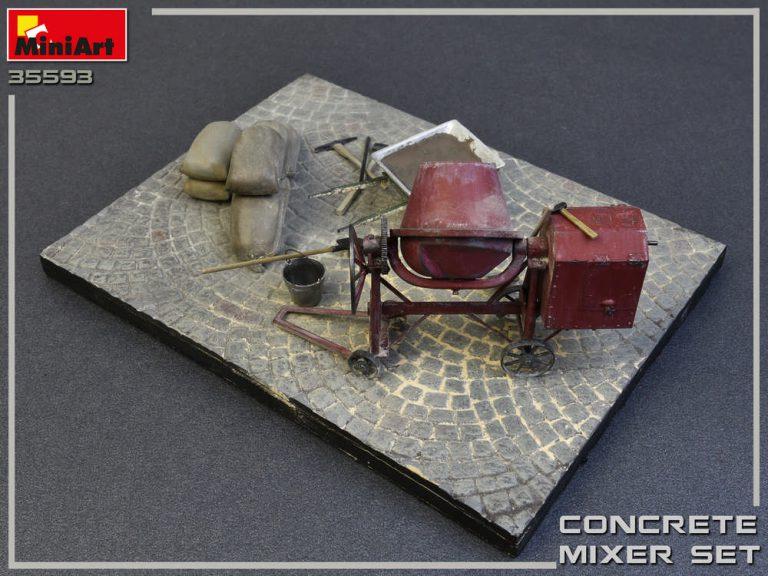 35593 コンクリート ミキサーセット