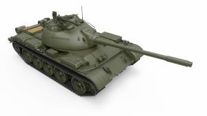3D renders 37026 TYPE 59 EARLY PROD. CHINESE MEDIUM TANK