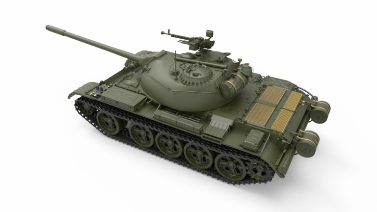 37026 TYPE 59 EARLY PROD. CHINESE MEDIUM TANK