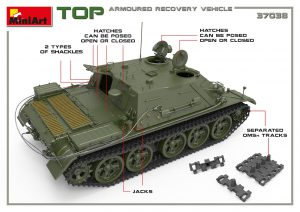 3D renders 37038 TOP ARMOURED RECOVERY VEHICLE