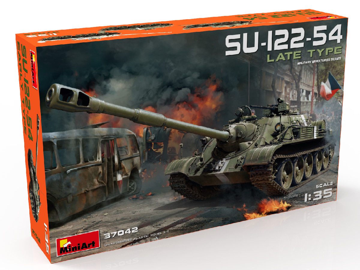 New Photos of Kit: 37042 SU-122-54 LATE TYPE