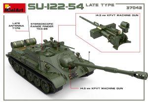 3D renders 37042 SU-122-54 LATE TYPE