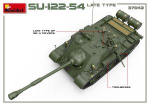 3D renders 37042 SU-122-54後期型