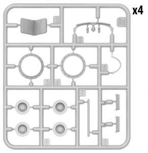 Content box 40006 クーゲルパンツァー41(r) インテリアキット(内部再現)
