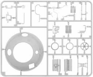 Content box 40006 Kugelpanzer 41( r ). INTERIOR KIT