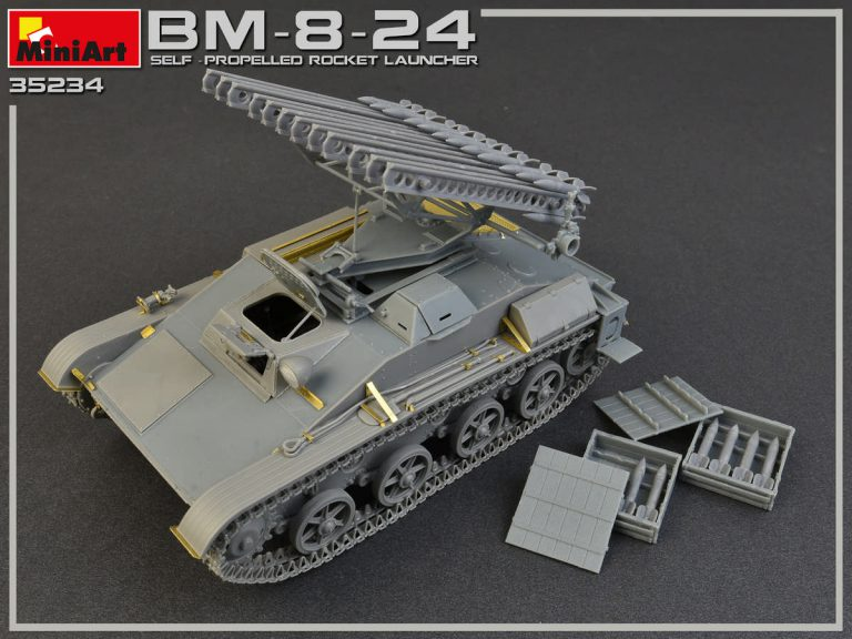 35234 BM-8-24 SELF-PROPELLED ROCKET LAUNCHER