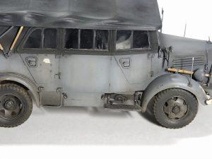 35147 L1500A (Kfz.70) GERMAN PERSONNEL CAR + Zaxar 157