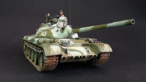 37011 T-54B SOVIET MEDIUM TANK. EARLY PRODUCTION. INTERIOR KIT + Vladimir