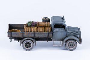 35142 MB 1500S GERMAN 1,5t CARGO TRUCK + Darren Caiels(@darrencaiels)