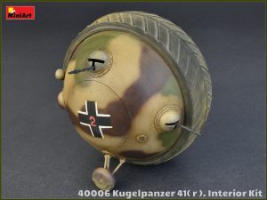 40006 Kugelpanzer 41( r ). INTERIOR KIT