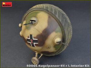 Photos 40006 Kugelpanzer 41( r ). INTERIOR KIT