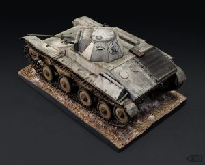 35215 T-60 EARLY SERIES. SOVIET LIGHT TANK. INTERIOR KIT + Boris Harlamov
