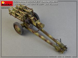 35269 GERMAN ROCKET LAUNCHER with 28cm WK Spr & 32cm WK Flamm + Sam M. Assad