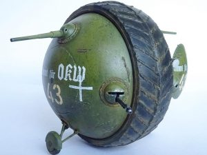 "40001 SOVIET BALL TANK ""Sharotank"" INTERIOR KIT + Iwan Hughes (@hughesy_models)"