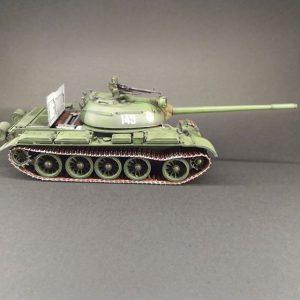 37011 T-54B SOVIET MEDIUM TANK. EARLY PRODUCTION. INTERIOR KIT + Ruben (@modelismo_militar)