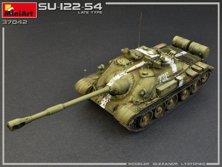 37042 SU-122-54 LATE TYPE