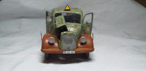 38014 GERMAN CARGO TRUCK L1500S + 36042 VILLAGE ROAD SECTION + Andrey Vavilkin