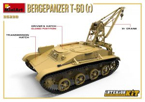 3D renders 35238 BERGEPANZER T-60 ( r ) INTERIOR KIT