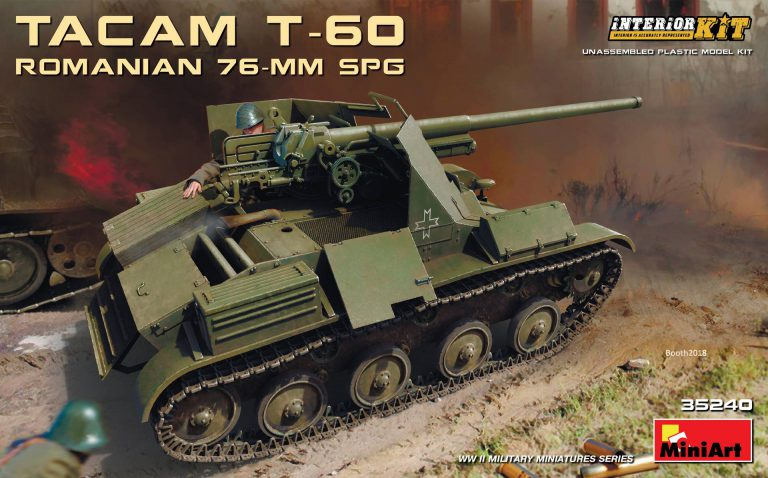 ROMANIAN 76-mm SPG TACAM T-60 INTERIOR KIT