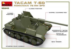 3D renders 35240 TACAM T-60 ( r ) 罗马尼亚 76mm 自行火炮 带内购