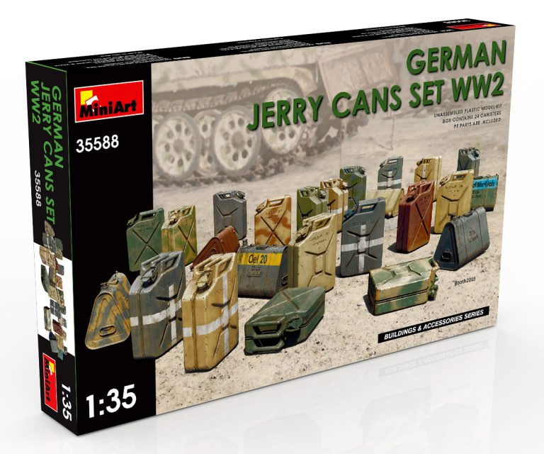 35588 Deutsche Benzinkanister Set WW2