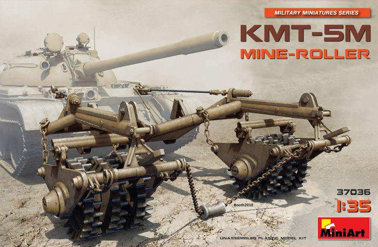 37036 KMT-5M地雷処理装置