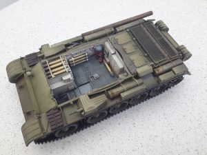 37003 T-54-1 SOVIET MEDIUM TANK. INTERIOR KIT + Chetnik