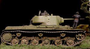 7027 T-55 SOVIET MEDIUM TANK + 35131 SOVIET TANK AMMO-LOADING CREW + 35108 SOVIET INFANTRY. SPECIAL EDITION + Author: Vladimir Khoroshev
