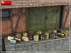 Photos 35588 GERMAN JERRY CANS SET WW2