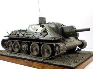 35197 SU-122 MID PRODUCTION. INTERIOR KIT + Alexander Zakharov