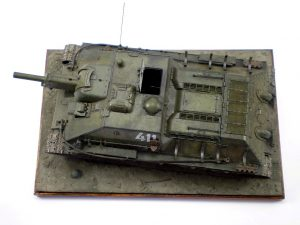 35197 SU-122 MID PRODUCTION. INTERIOR KIT + Alexander Zakharov