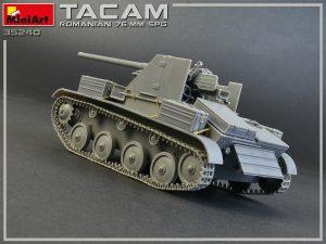 Build up 35240 TACAM T-60 ( r ) 罗马尼亚 76mm 自行火炮 带内购