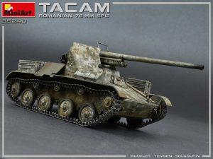 Photos 35240 Rumänischer 76-mm SPG Tacam T-60 mit Innenausstattung