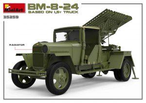 3D renders 35259 BM-8-24 BASED ON 1,5t TRUCK