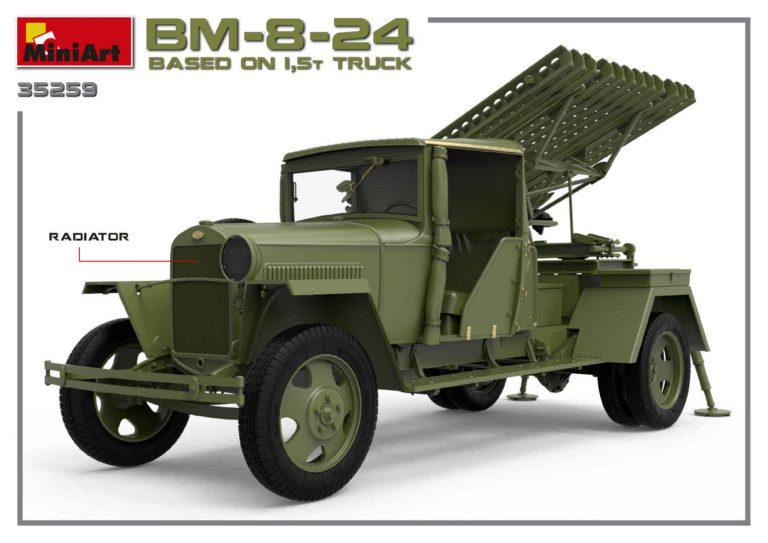 352559 BM-8-24 auf 1,5t LKW