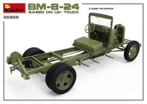 3D renders 35259 БМ-8-24 НА БАЗЕ ГРУЗОВИКА 1,5т