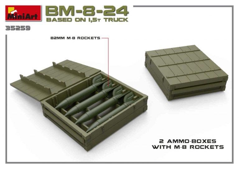 35259 BM-8-24 BASED ON 1,5t TRUCK